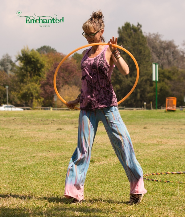 Hooping workshops offer you the chance to learn some hula hooping tricks. www.enchantedbychrista.co.za