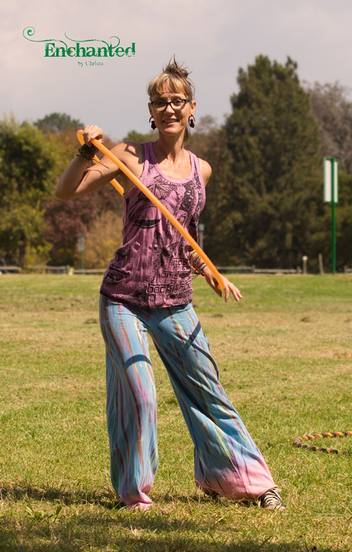 Day-time hula hooping performances will add something different to your family day. www.enchantedbychrista.co.za