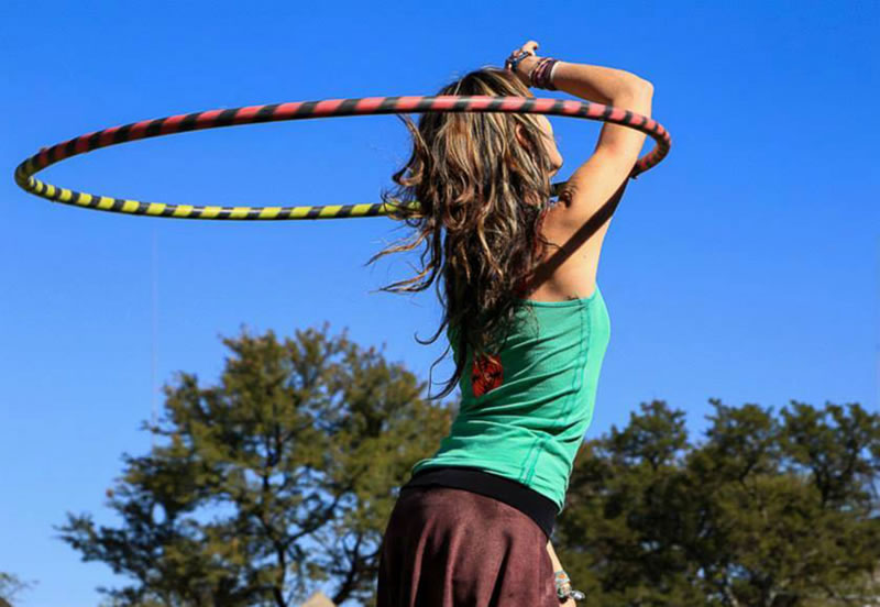 Learning to do some tricks like hooping around your elbow is a lot of fun. www.enchantedbychrista.co.za