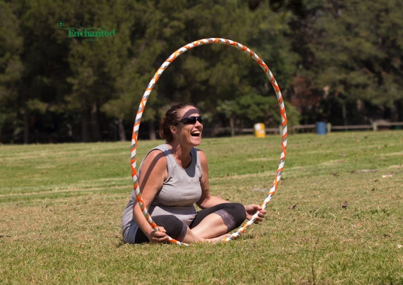 Hooping fun at Delta Park