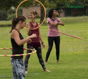 I offer hula hooping lessons in Johannesburg which is a great way to stay fit and in shape