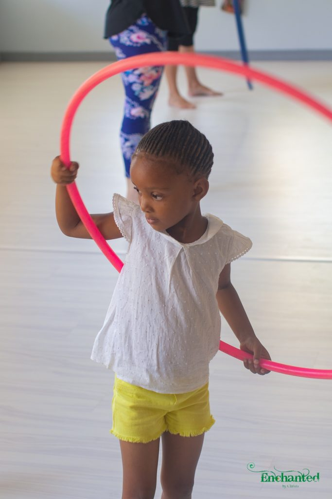 Hula hooping is a fun way to keep kids active and entertained at a party