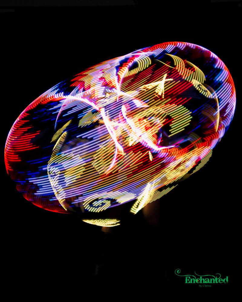 Various LED hula hoop show options available for year end functions and corporate events